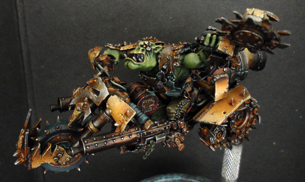 Big Boss Ork sur moto (Forgeworld) - Photo 2