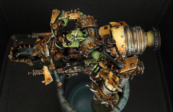 Big Boss Ork sur moto (Forgeworld) - Photo 9