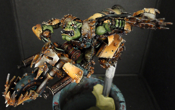 Big Boss Ork sur moto (Forgeworld) - Photo 1