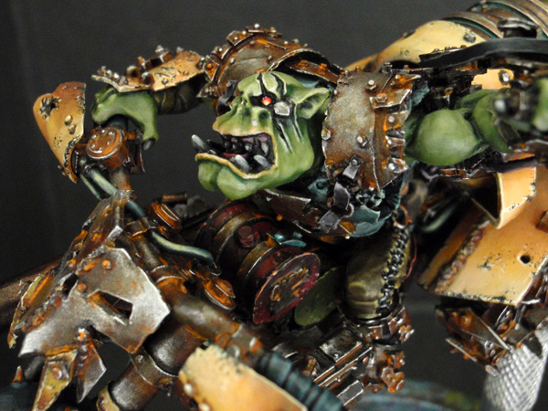 Big Boss Ork sur moto (Forgeworld) - Photo 11