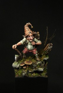 Lutin bucheron - Blacksmith Miniatures, by Mathieu Rouèche (1)