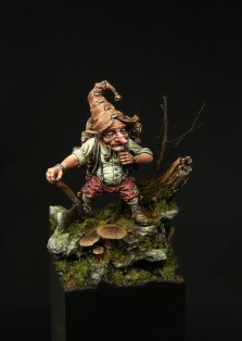 Lutin bucheron - Blacksmith Miniatures, by Mathieu Rouèche (2)