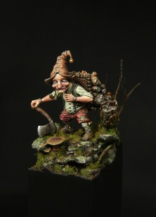 Lutin bucheron - Blacksmith Miniatures, by Mathieu Rouèche (6)