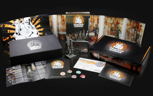 """La """"supporter box"""". 84 euros, littérallement luxueuse et remplie à craquer"""