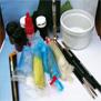 Peinture : matériel et préparation