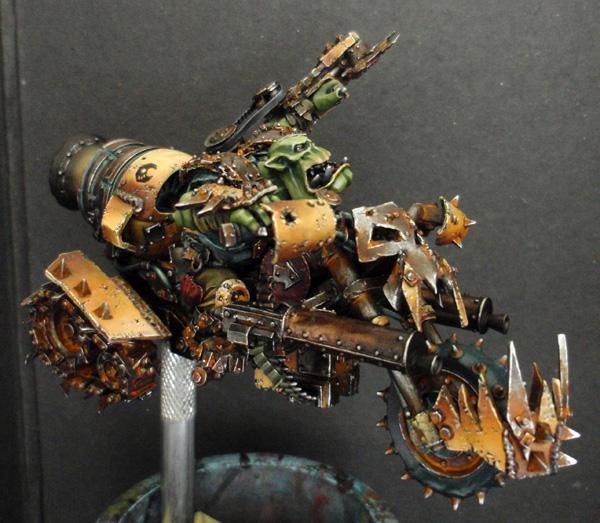Big Boss Ork sur moto (Forgeworld) - Photo 10