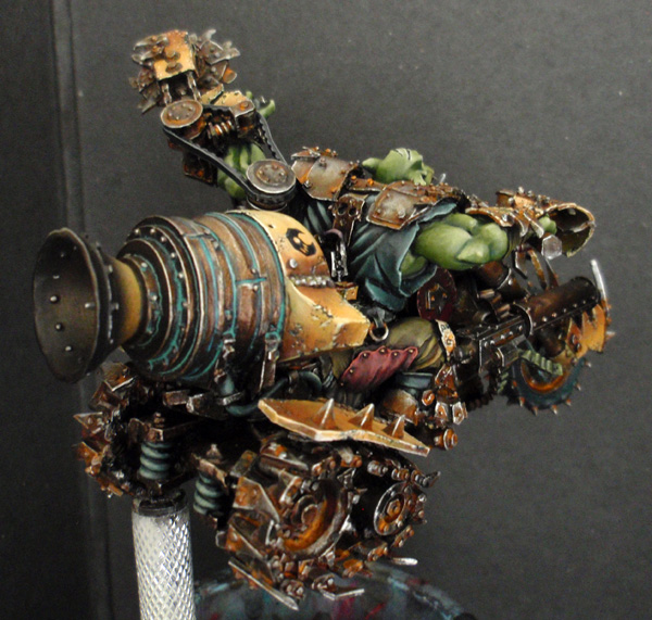 Big Boss Ork sur moto (Forgeworld) - Photo 6