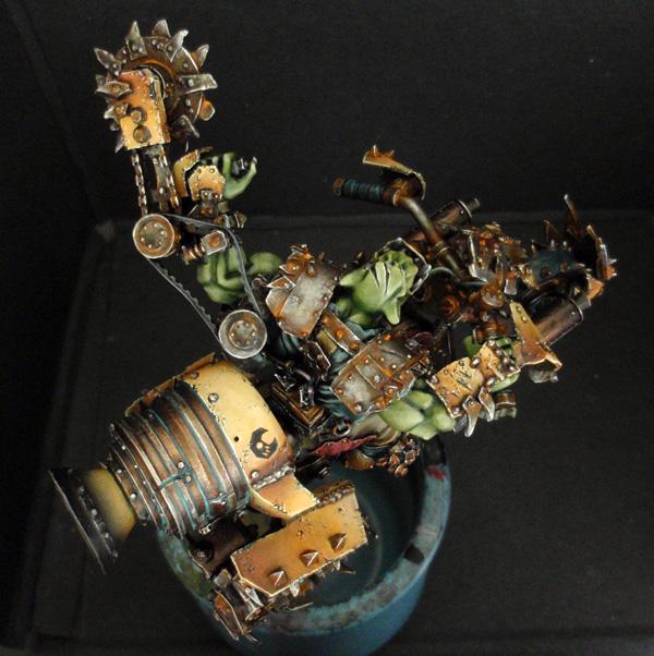 Big Boss Ork sur moto (Forgeworld) - Photo 8