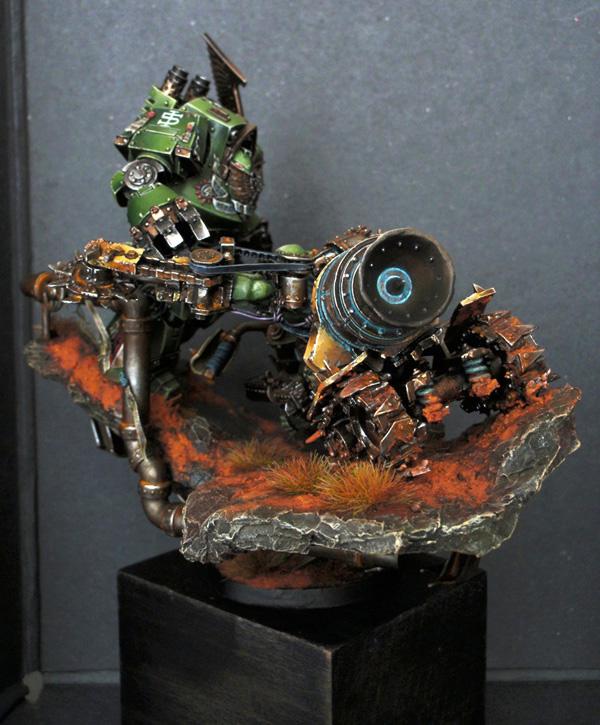 Big Boss Ork sur moto (Forgeworld) - Photo 16